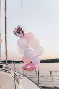 yacht party decoration